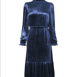 L.K.Bennett Noemi Dress, Midnight us8